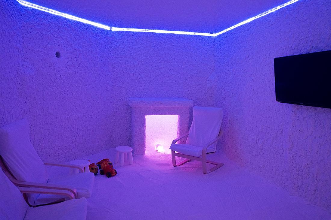 Как сделать соляную комнату видео